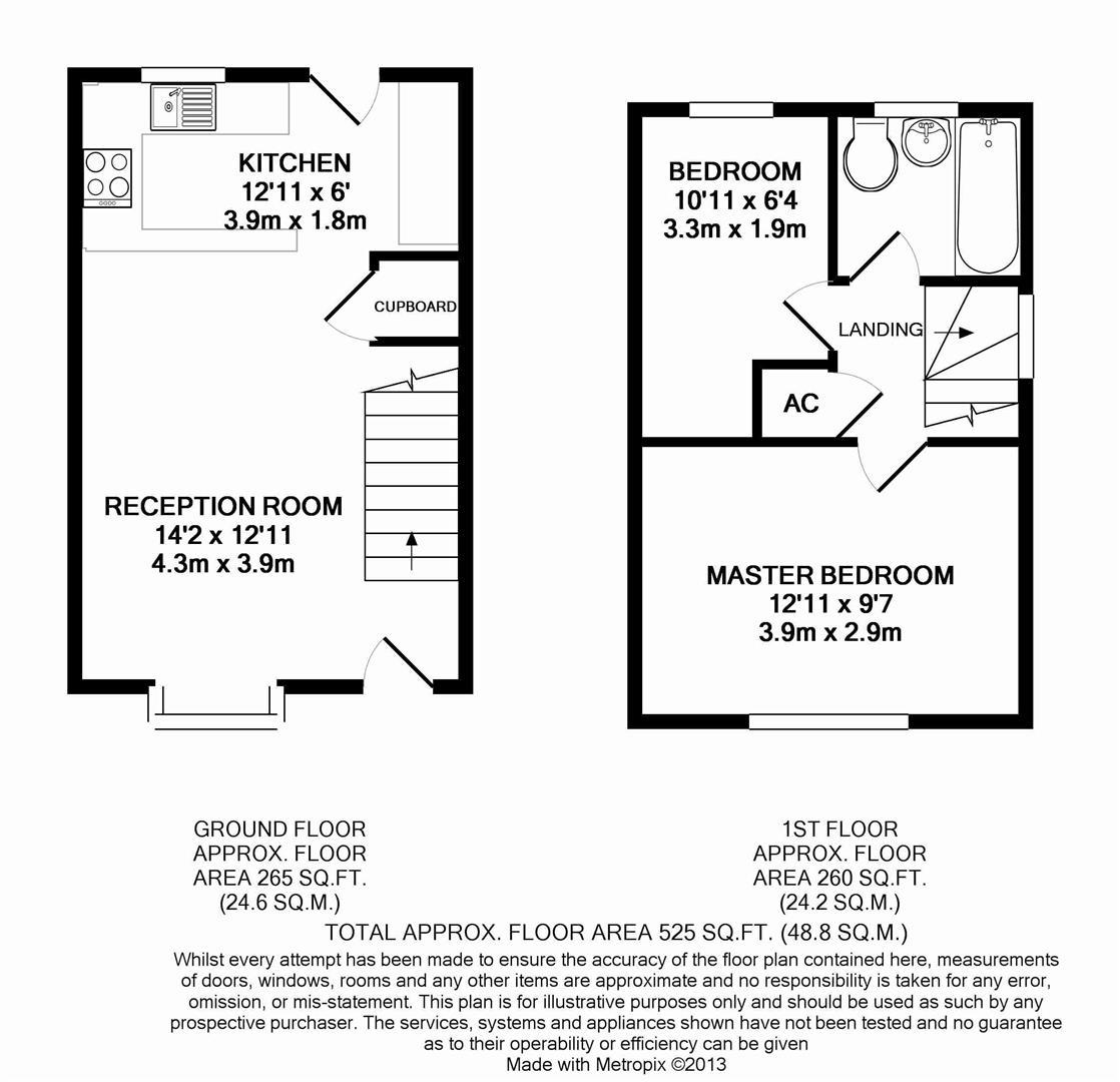 Floorplan for Gorringes Brook, Horsham